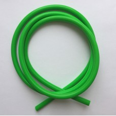 Трубка латексная силиконовая 6mm x 3mm 1m green