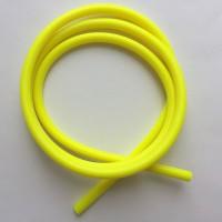 Трубка латексная силиконовая 6mm x 3mm 1m yellow