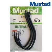 Крючки Mustad Catfish 412NP-TF 8/0