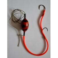 Монтаж для ловли сома с подводным поплавком 20g.