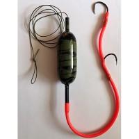 Монтаж для ловли сома с подводным поплавком 60g.
