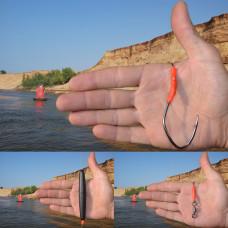 Оснастка для ловли сома на квок 200гр. 8/0 1.1mm