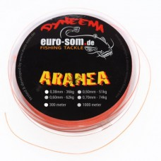 Плетёный шнур Euro-Som ARANEA 0,50mm 150m Orange