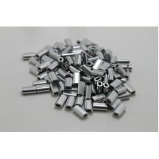 Гильза обжимная 1,2mm для монофильного поводка (50шт.)